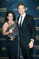 LOS ANGELES - May 1: Lisa Oz, Dr Mehmet Oz at The 43rd Daytime Emmy Awards Gala at the Westin Bonaventure Hotel on May 1, 2016 in Los Angeles, California