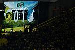 16.12.2017, Signal Iduna Park, Dortmund, GER, 1.FBL, Borussia Dortmund vs TSG 1899 Hoffenheim, <br /> <br /> im Bild | picture shows<br /> Anzeigetafel Halbzeitstand, <br /> <br /> Foto &copy; nordphoto / Rauch