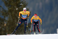 31st December 2019; Dobbiaco, Toblach, South Tyrol, Italy;  FIS Tour de Ski - Cross Country Ski World Cup 2019  in Dobbiaco, Toblach, on December 31, 2019; Victoria Carl of Germany in the Womens individual 10km