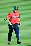 USA Team player Phil Mickelson strides onto the 16th green during the Singles on the Final Day of the Ryder Cup at Valhalla Golf Club, Louisville, Kentucky, USA, 21st September 2008 (Photo by Eoin Clarke/GOLFFILE)