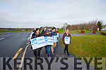 Lecturers on strike at IT Tralee North Campus on Wednesday afternoon.
