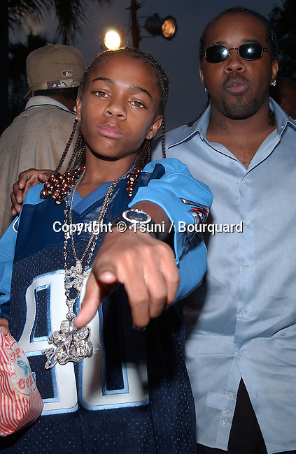 Lil' Bow Wow arriving at the premiere of Hardball, a benefit for The Dream Foundation on the Paramount lot in Los Angeles. September 10, 2001<br /> &copy; Tsuni<br />           -            Lil'BowWow05A.jpg