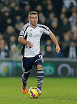 Callum McManaman of West Bromwich Albion - Premier League Football - West Bromwich Albion vs Swansea City - The Hawthorns West Bromwich - Season 2014/15 - 11th February 2015 - Photo Malcolm Couzens/Sportimage