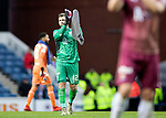 Rangers v St Johnstone&hellip;16.02.19&hellip;   Ibrox    SPFL<br />Cammy Bell applauds the saints fans after keeping a clean sheet on his debut<br />Picture by Graeme Hart. <br />Copyright Perthshire Picture Agency<br />Tel: 01738 623350  Mobile: 07990 594431