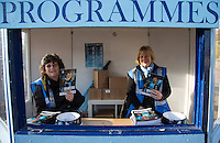 Programmes on sale during the Sky Bet League 2 match between Wycombe Wanderers and Crawley Town at Adams Park, High Wycombe, England on 28 December 2015. Photo by Andy Rowland / PRiME Media Images