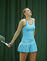 10-3-06, Netherlands, tennis, Rotterdam, National indoor junior tennis championchips, Manon Velthorst