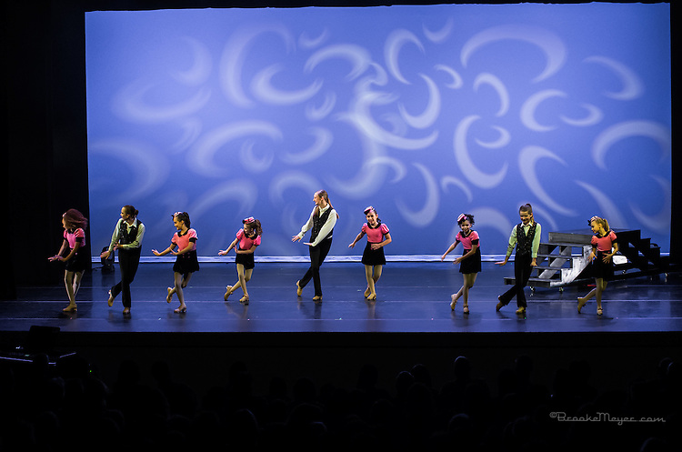 """Saturday Matinee Performance """"Then & Now"""", the Spring Showcase production of 3D Project Jazz Company. Cary Arts Center, 12 March 2016"""
