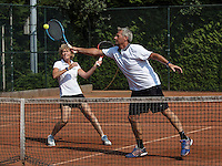 Etten-Leur, The Netherlands, August 27, 2016,  TC Etten, NVK, Mixed Double<br /> Photo: Tennisimages/Henk Koster