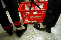 A Wal-mart basket at a superstore in the center of Kunming, capital of Yunnan Province, China. An Introduction to Wal-Mart. In 1996, Wal-Mart entered the Chinese market nowadays operate 45 units in 21 cities across the mainland..08 Jul 2005