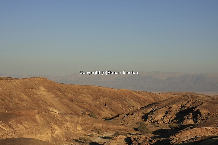 Israel, Negev, Wadi Kasra on the ancient Incense Route, a World Heritage Site
