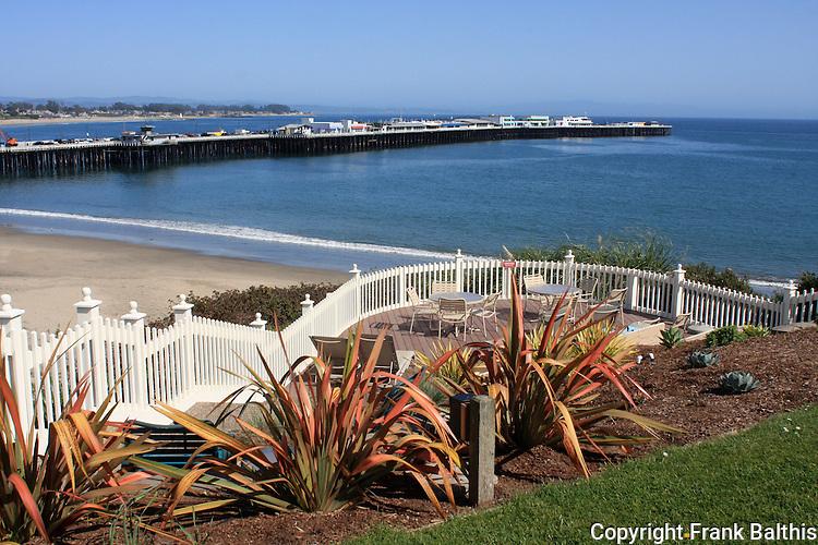 Muni Wharf from Sea and Sand Inn