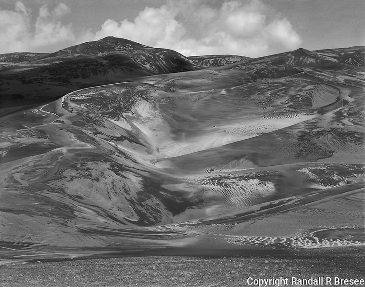 &quot;Many Textures of the Great Sand Dunes&quot; Great Sand Dunes National Park, Colorado<br />
