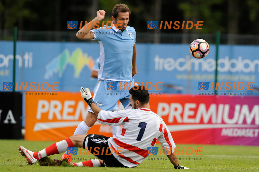Senad Lulic<br /> 18-07-2016 Auronzo di Cadore ( Belluno )<br /> Ritiro estivo S.S. Lazio ad Auronzo di Cadore in preparazione per la stagione 2016-2017<br /> Amichevole S.S. Lazio Vs Brasilian Soccer Team - Friendly Match <br /> <br /> SS Lazio pre season training camp <br /> @ Marco Rosi / Fotonotizia