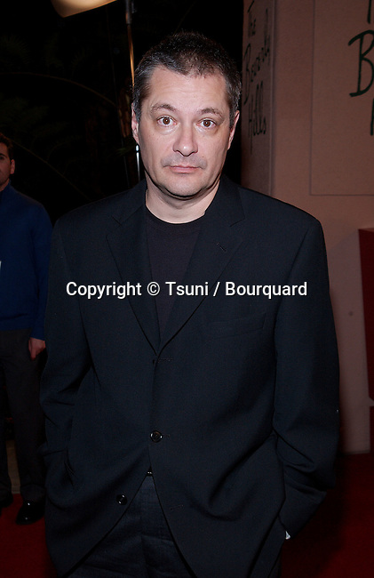 Jean Pierre Jeunet - director of Amelie - arriving at the 7th Broadcast Film Critics Ass. Awards at the Beverly Hills Hotel in Los Angeles.  January 11, 2002.           -            JeunetJeanPierre02A.jpg