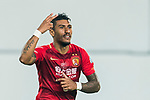 Jose Paulo Bezerra Maciel Junior of Guangzhou Evergrande FC celebrates during their AFC Champions League 2017 Match Day 1 Group G match between Guangzhou Evergrande FC (CHN) and Eastern SC (HKG) at the Tianhe Stadium on 22 February 2017 in Guangzhou, China. Photo by Victor Fraile / Power Sport Images