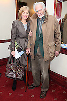 "NO REPRO FEE. 17/1/2010. The Field opening night. Ann and Barry Cassin are pictured at the Olympia Theatre for the opening night of John B Keanes 'The Field"" Picture James Horan/Collins"