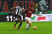 2018/11/04 Udinese vs Milan