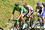Green Jersey Marcel Kittel (GER) Quick-Step Floors in action during Stage 13 of the 104th edition of the Tour de France 2017, running 101km from Saint-Girons to Foix, France. 14th July 2017.<br /> Picture: ASO/Pauline Ballet | Cyclefile<br /> <br /> <br /> All photos usage must carry mandatory copyright credit (&copy; Cyclefile | ASO/Pauline Ballet)