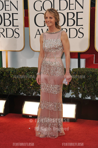 Helen Hunt at the 70th Golden Globe Awards at the Beverly Hilton Hotel..January 13, 2013  Beverly Hills, CA.Picture: Paul Smith / Featureflash
