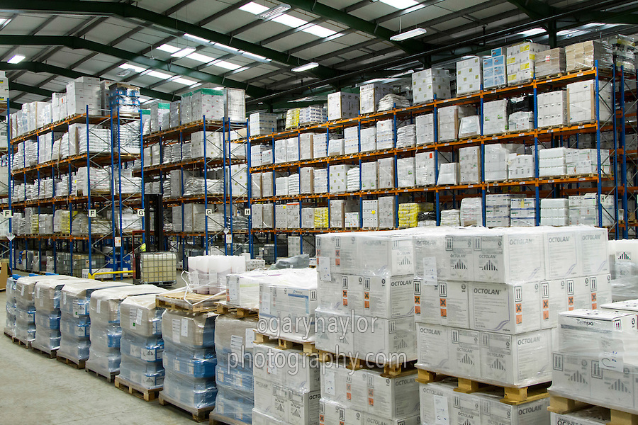 Large scale agricutural chemical warehousing and distribution