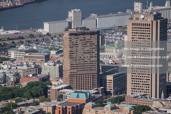 St. Jean Baptiste district of Quebec city is pictured in this aerial photo Thursday September 3, 2015.