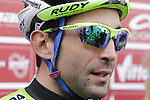 Last year's winner Moreno Moser (ITA) Cannondale at sign on in San Gimignano before the start of the 2014 Strade Bianche race over the white dusty gravel roads of Tuscany, Italy. 8th March 2014.<br /> Picture: Eoin Clarke www.newsfile.ie