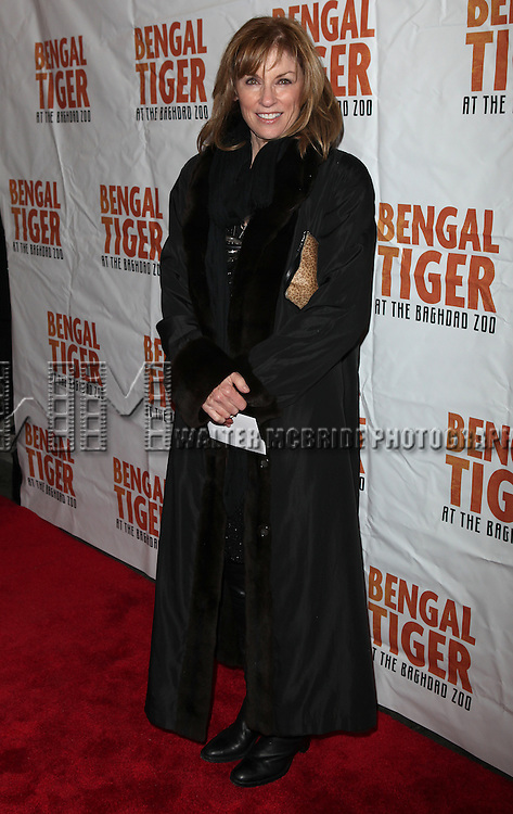 Brynn Thayer.attending the Broadway Opening Night Performance of 'Bengal Tiger At The Baghdad Zoo' at the Richard Rodgers Theatre in New York City.