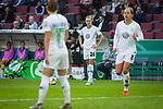 01.05.2019, RheinEnergie Stadion , Köln, GER, DFB Pokalfinale der Frauen, VfL Wolfsburg vs SC Freiburg, DFB REGULATIONS PROHIBIT ANY USE OF PHOTOGRAPHS AS IMAGE SEQUENCES AND/OR QUASI-VIDEO<br /> <br /> im Bild | picture shows:<br /> Freistoss VfL durch Caroline Graham Hansen (VfL Wolfsburg #26), <br /> <br /> Foto © nordphoto / Rauch