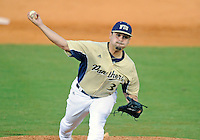 Florida International University right handed pitcher Albert Cardenas (31) plays against Florida Gulf Coast University. FIU won the game 10-3 on March 28, 2012 at Miami, Florida.