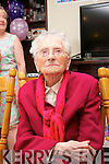 Nora Mac Namara originally Edward St, Tralee and now resident of Ocean View nursing home, Camp celebrated her 100 birthday with her family and friends at the nursing home last Sunday