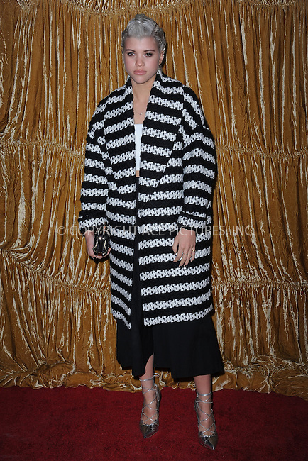 WWW.ACEPIXS.COM<br /> February 16, 2015 New York City<br /> <br /> Sofia Richie at the alice + olivia by Stacey Bendet fashion presentation on February 16, 2015 in New York City. <br /> <br /> By Line: Kristin Callahan/ACE Pictures<br /> ACE Pictures, Inc.<br /> tel: 646 769 0430<br /> Email: info@acepixs.com<br /> www.acepixs.com