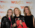 As The World Turns Elizabeth Hubbard & Martha Bryne with Daryn Strauss - Weight: The Series held its premiere party on October 8, 2014 at Galway Pub, New York City, New York. (Photo by Sue Coflin/Max Photos)