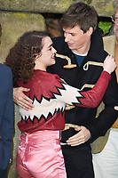 Maisie Williams &amp; Eddie Redmayne at the &quot;Early Man&quot; world premiere at the IMAX, South Bank, London, UK. <br /> 14 January  2018<br /> Picture: Steve Vas/Featureflash/SilverHub 0208 004 5359 sales@silverhubmedia.com