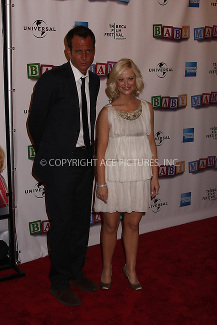 WWW.ACEPIXS.COM . . . . .  ....April 23, 2008. New York City.....Actors Will Arnett and Amy Poehler attend the 7th Annual Tribeca Film Festival 'Baby Mama' Premiere at the Ziegfeld Theatre. ......Please byline: AJ Sokalner - ACEPIXS.COM.... *** ***..Ace Pictures, Inc:  ..Philip Vaughan (646) 769 0430..e-mail: info@acepixs.com..web: http://www.acepixs.com