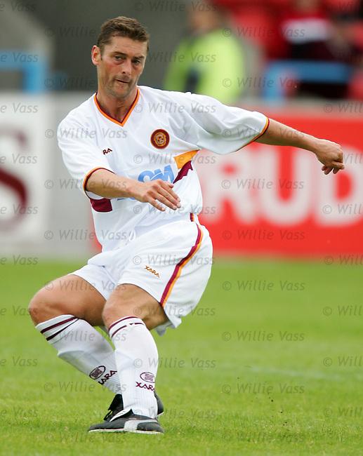 Scott Leitch, Motherwell.stock season 2004-2005.pic willie vass