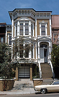 San Francisco: House, California St. Italianate, 1870's.   Photo '78.