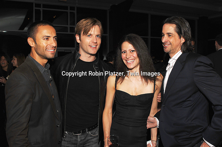 Kamar de los Reyes, Trevor St John, Ginevra and Michael Easton ..at The Feast with Famous Faces 2007 Gala benefitting..The League for the Hard of Hearing on October 22, 2007 at Pier Sixty at Chelsea Piers. ..Robin Platzer, Twin Images