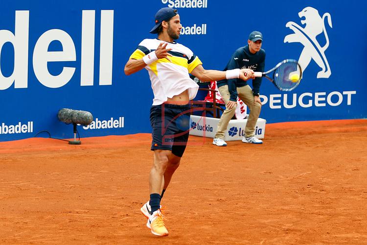 65e Trofeu Conde de Godo.<br /> Barcelona Open Banc Sabadell.<br /> Albert Monta&ntilde;es (ESP) vs Feliciano Lopez (ESP): 2-6, 2-6.