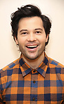 """Jason Tam during the first day of rehearsals for the Broadway cast of """"Be More Chill"""" at Pearl Studios on January 10, 2019 in New York City."""