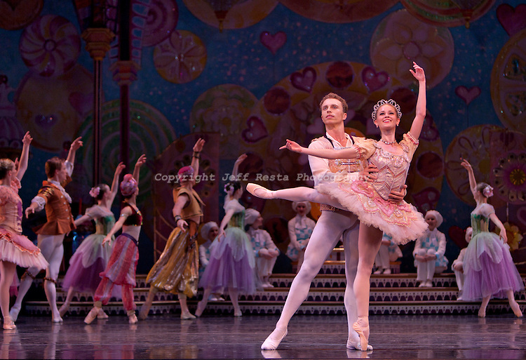 Texas Ballet Theater perform The Nutcracker at the Winspear Opera House on December 9, 2010 in Dallas, TX. Ben Stevenson O.B.E.