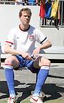 United States' Jonathan Spector starts the game on the substitutes bench on Sunday, March 25th, 2007 at Raymond James Stadium in Tampa, Florida. The United States Men's National Team defeated Ecuador 3-1 in a men's international friendly.