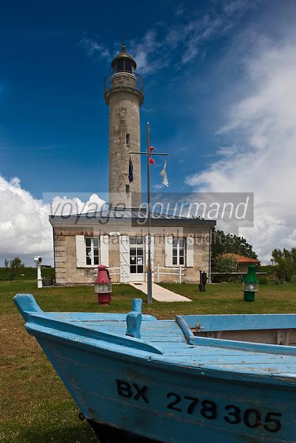 Europe/France/Aquitaine/33/Gironde/Estuaire de la Gironde/Jau: Phare de Richard