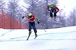 Freestyle ski cross, disciplina Olimpica invernale. Freestyle ski cross, winter olympic discipline.