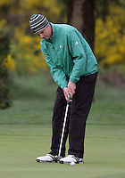 22 May, 2010:   Eastern Michigan's Brandon Lemons attempts a putt on hole 10 during day three of the NCAA West Regional First Round at Gold Mountain Golf Course in Bremerton, Washington.