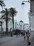 An above-ground metro-rail snakes through Casablanca improving public transportation for tourists and locals. Small red hatchback taxis or large white mercedes taxis are a common form of transportation that are often shared.<br /> <br /> Ben Sklar for the New York Times
