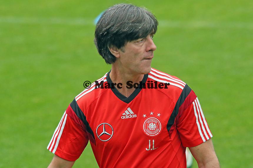Bundestrainer Joachim Löw - Trainingslager der Deutschen Nationalmannschaft zur WM-Vorbereitung in St. Martin