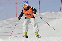 MT BULLER, AUSTRALIA, 28 August 2008 - Mia Low competing at the Victorian Interschools Snowsports Championships held at Mt Buller, Victoria on 28 August 2008. Photo by Sydney Low / AsteriskImages.com