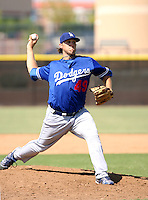 Josh Lindblom / Los Angeles Dodgers 2008 Instructional League..Photo by:  Bill Mitchell/Four Seam Images