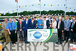 Listowel Celtic at the Kerry District League Awards night at the  Friends of University Hospital Kerry 'Night at the Dog' in the Kingdom Greyhound Stadium on Friday