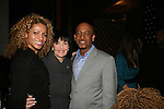 Michelle Hurd - Linda Dano - Montel Williams at the First Annual StarPet 2008 Awards Luncheon as dogs and cats compete for a career in showbusiness on November 10, 2008 at the Edison Ballroom, New York, New York. The event benefitted Bideawee and NY SAVE. (Photo by Sue Coflin/Max Photos